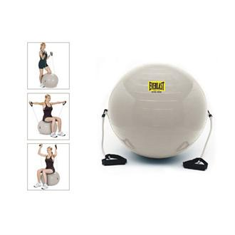 Everlast for Her Pilates Ball with Resistance Tubing & DVD